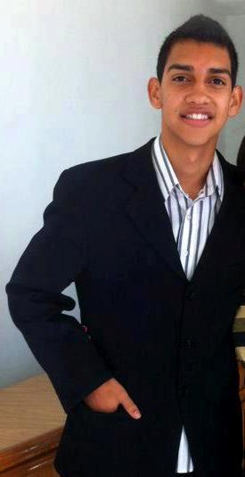 A morte do estudante gera pedidos de justiça e de segurança. (FOTO: Reprodução/ Facebook)