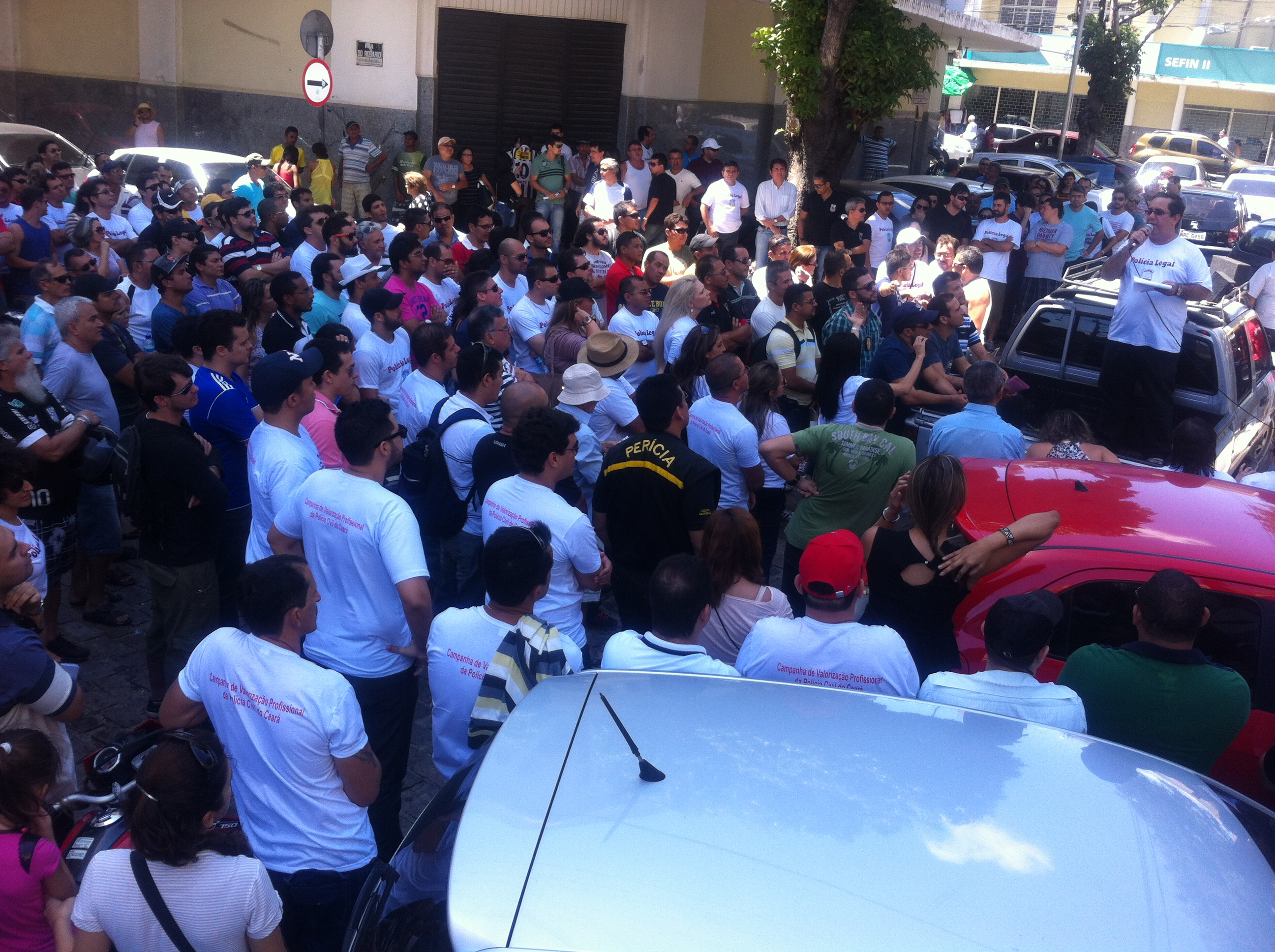 Policiais podem paralisar as atividades durante o megaevento esportivo (FOTO: Divulgação)