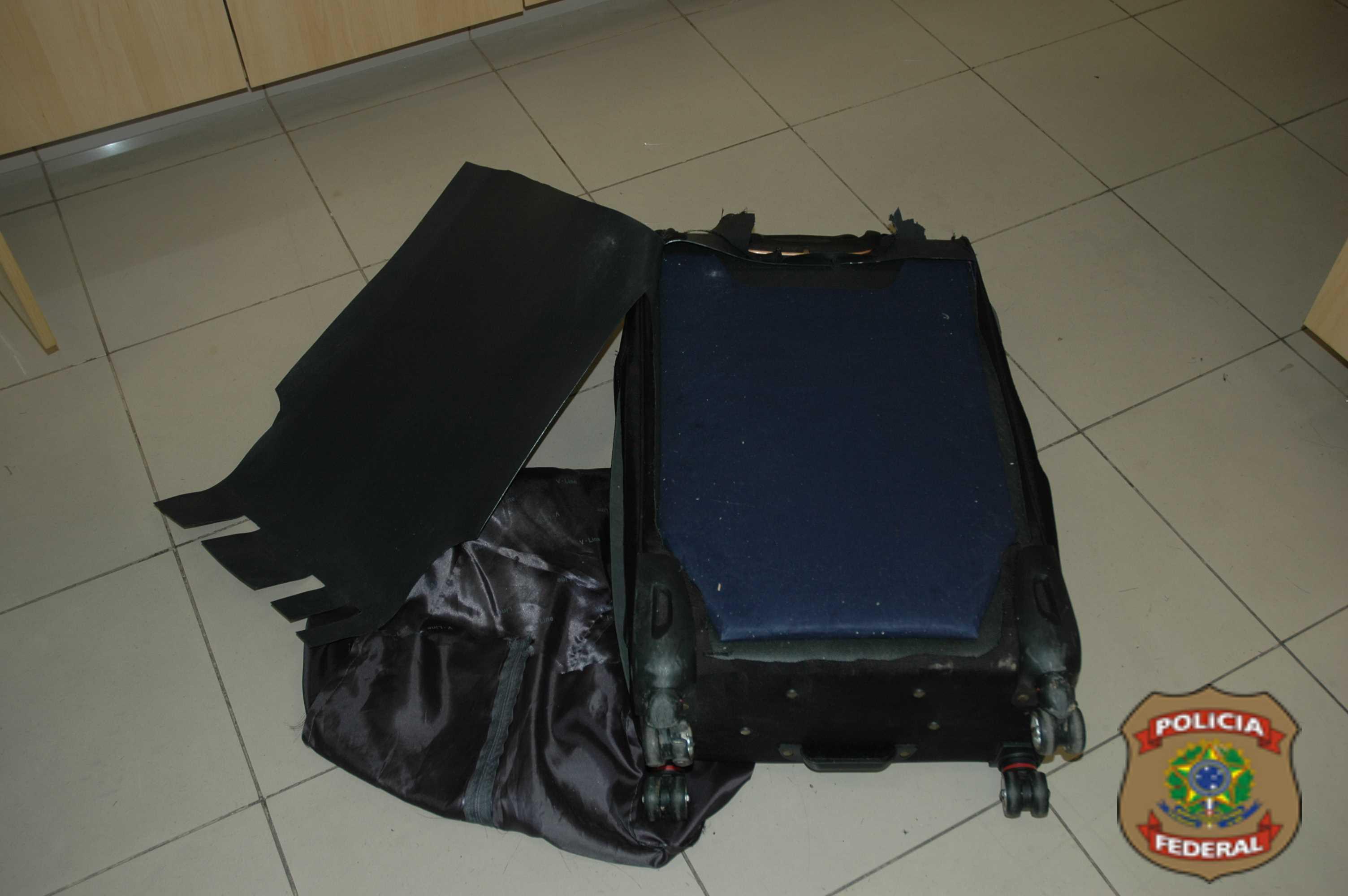 O preso responderá por tráfico internacional de drogas com pena de 5 a 15 anos de reclusão (FOTO: DIVULGAÇÃO/PF)
