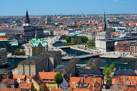 Copenhague, capital da Dinamarca, país mais pacífico do muno (FOTO: Divulgação)