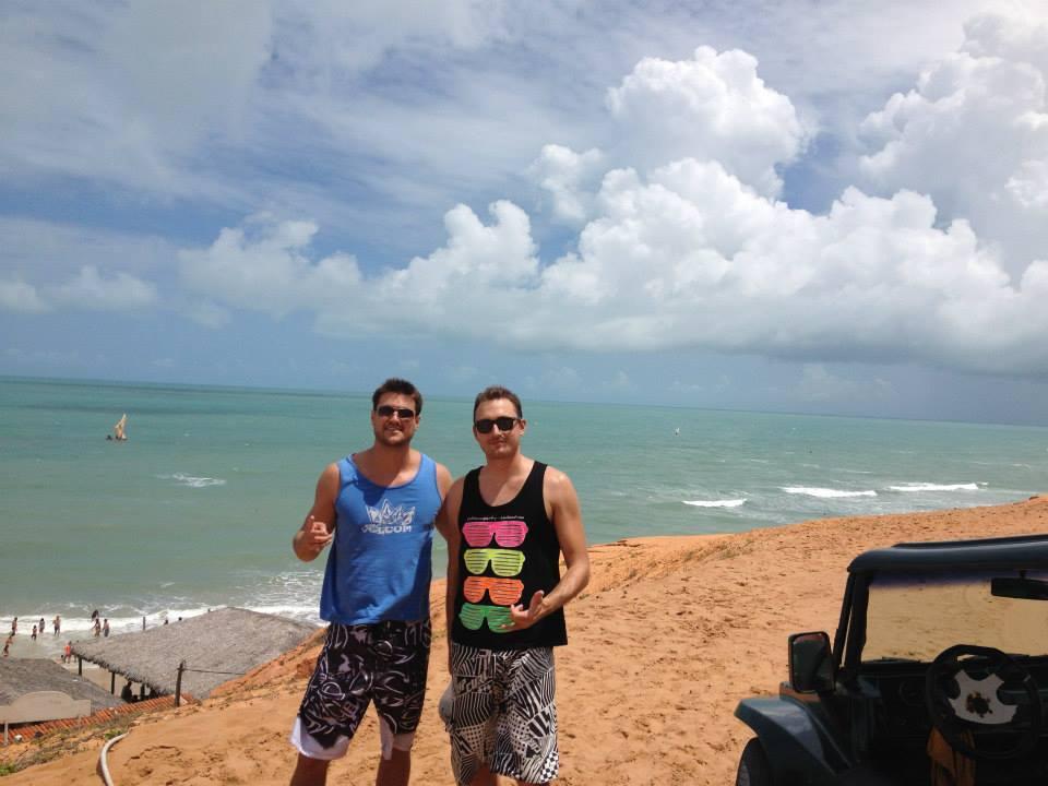 Gael veio para Fortaleza por amar o clima e as praias (FOTO: Arquivo pessoal)