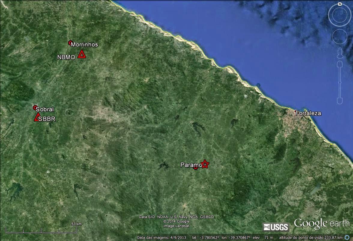 Há exatamente um ano, Paramoti/CE sofreu um abalo sísmico de1,9º. (FOTO: LabSis/ Divulgação)