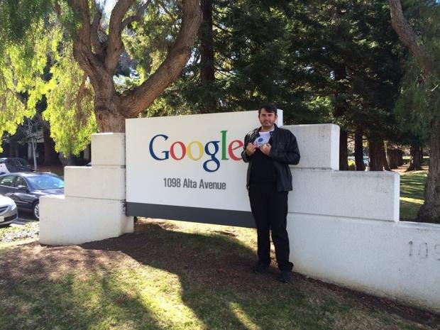 Marques Filho passou 30 dias no Vale do Silício e conheceu as maiores empresas de tecnologia (FOTO: Arquivo Pessoal)