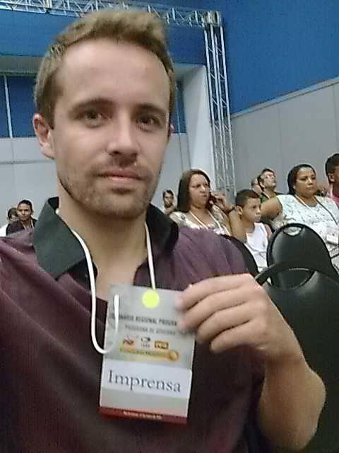 Mikkel em passagem pelo Brasil (FOTO: Arquivo pessoal)