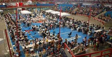Mutirão tem capacidade de atender até 500 pessoas por hora (FOTO: Divulgação)