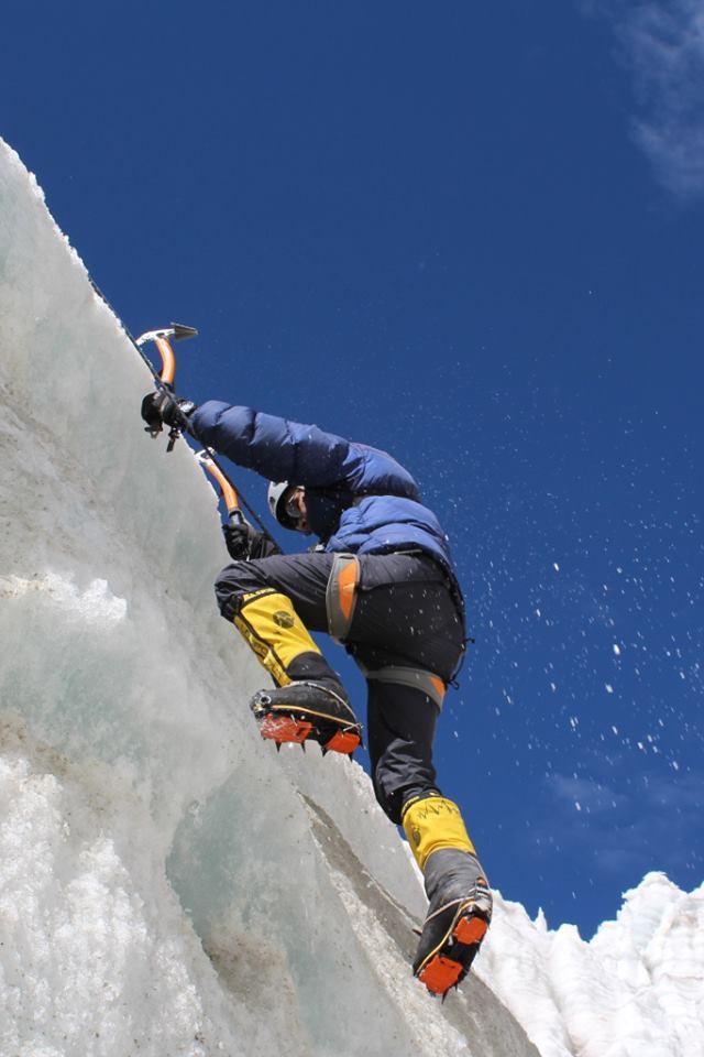 Escalada do Everest é a última etapa do projeto Sete Cumes (FOTO: Rosier Alexandre/Arquivo pessoal)
