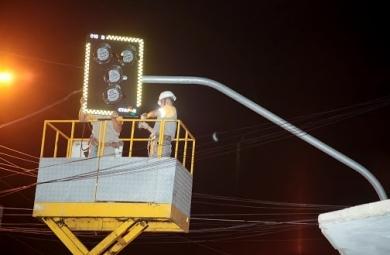 Entorno do Terminal do Antonio Bezerra ganha semáforos (FOTO: Prefeitura de Fortaleza/ Divulgação)