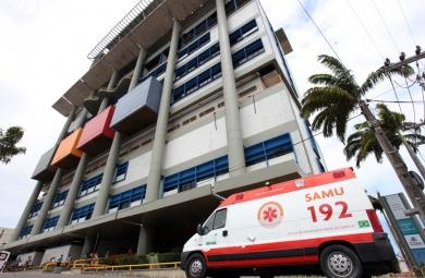 Dos 11 pacientes que foram encaminhados para o Fortaleza, três foram socorridos de helicóptero (FOTO: DIVULGAÇÃO/IJF)