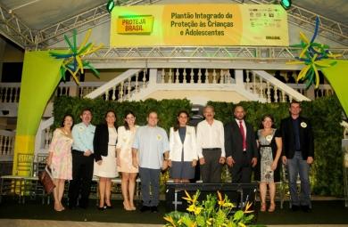 Plano foi lançado no âmbito de proteger crianças e adolescentes (FOTO: Divulgação/Prefeitura de Fortaleza)