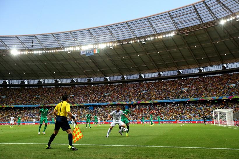 No total, o estádio recebeu 237,7 mil torcedores – média de 59,4 mil por jogo (FOTO: TIAGO CAFARDO/PORTAL DA COPA/DIVULGAÇÃO)