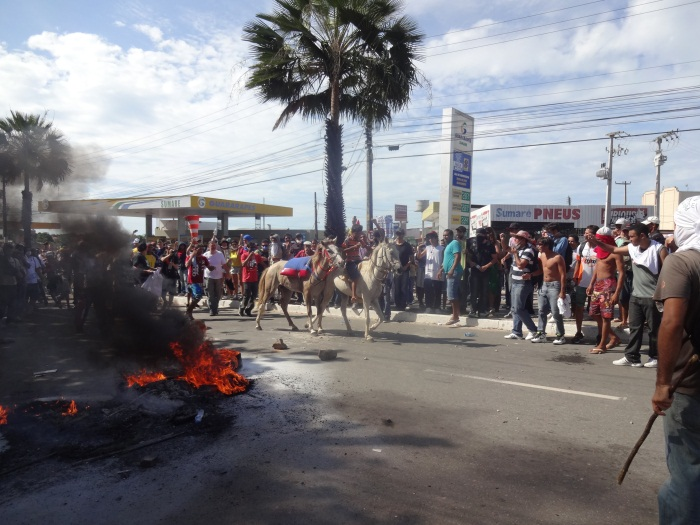 Ministério Público pontua ação da polícia durante as manifestações na Copa do Mundo (FOTO: Tribuna do Ceará)