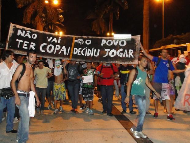 Protestos contra a Copa