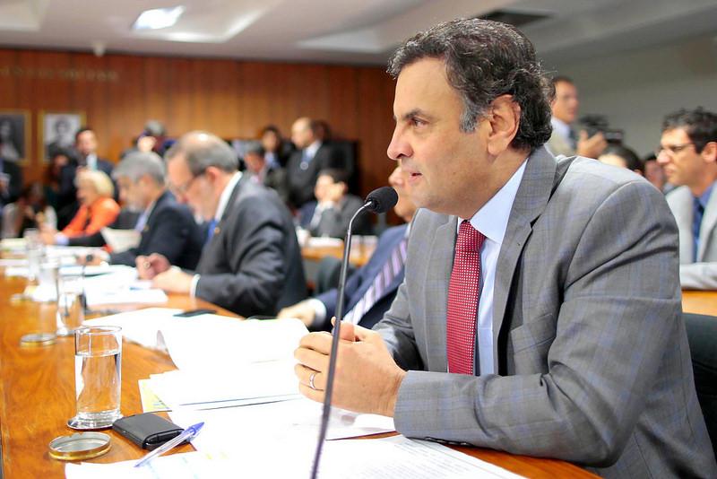 """Aécio Neves afirmou que os programas de transferência de renda """"têm DNA"""" nas gestões do PSDB (FOTO: DIVULGAÇÃO;SITE OFICIAL AÉCIO NEVES)"""