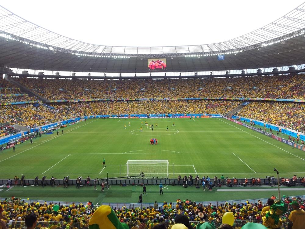 Arena Castelão é o principal palco da Copa do Mundo em Fortaleza (FOTO: Tribuna do Ceará/Daniel Herculano)