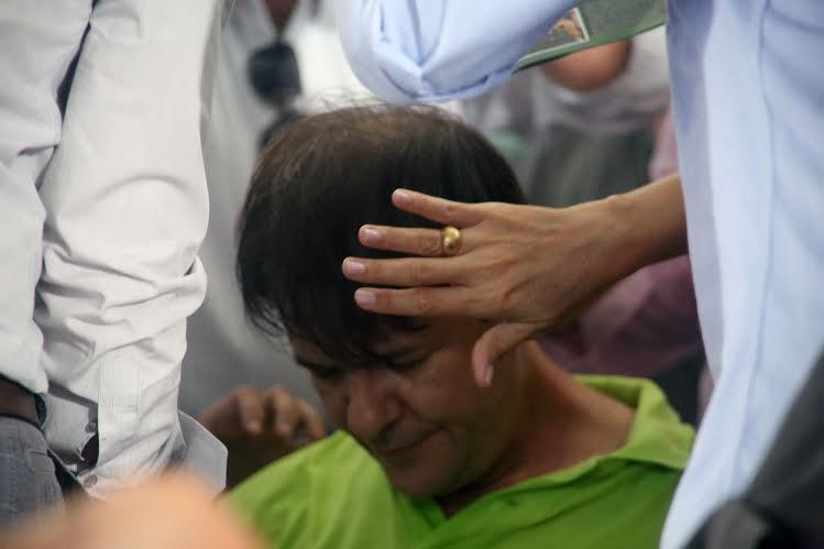 Cid passa mal durante convenção do PDT, neste domingo, em Fortaleza