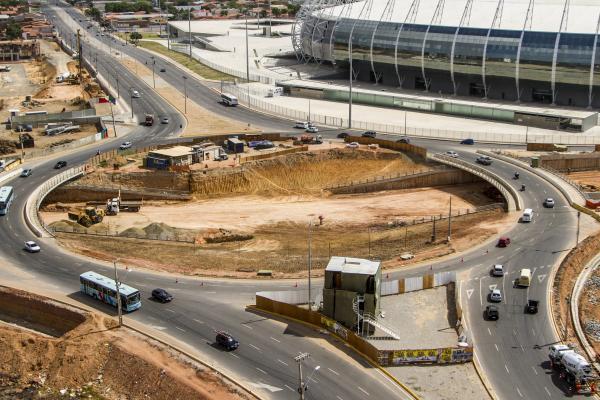Avenida foi liberada nesta quinta-feira(FOTO: Portal da Copa/Divulgação)