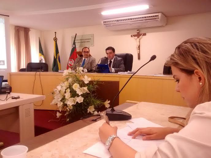 Promotores de Justiça André Clark e Marcelo Pires (FOTO: Tribuna do Ceará/Pedro Alves)