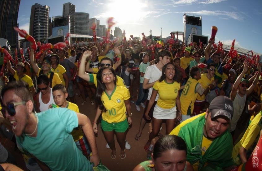 Fora do estádio, temperatura em Fortaleza na hora do jogo será cerca de 32ºC (FOTO: Prefeitura de Fortaleza/Divulgação)