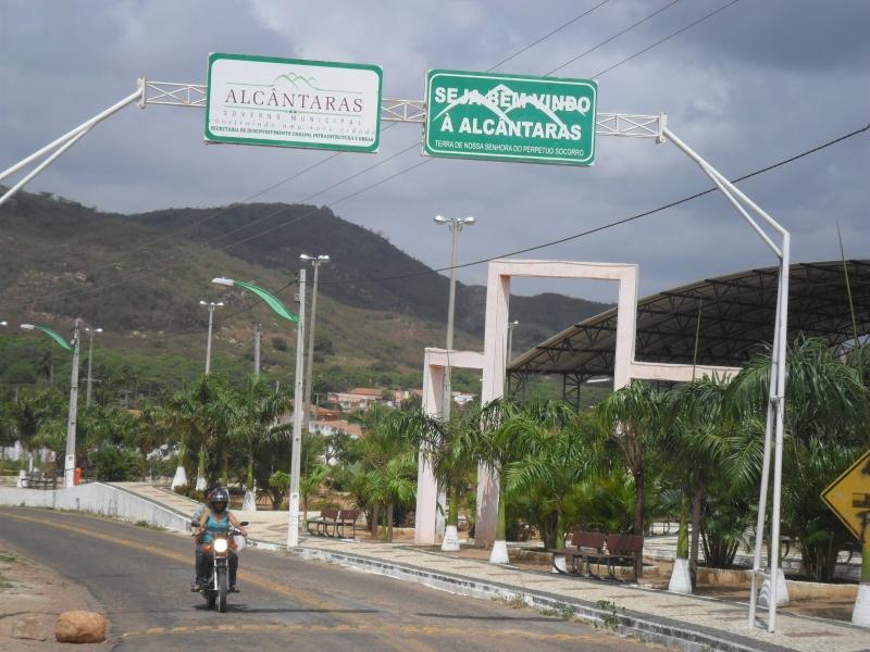 Há mais de 10 anos não acontece um assassinato na cidade, segundo o comandante do destacamento de Alcântaras (FOTO: Divulgação/Prefeitura Municipal)