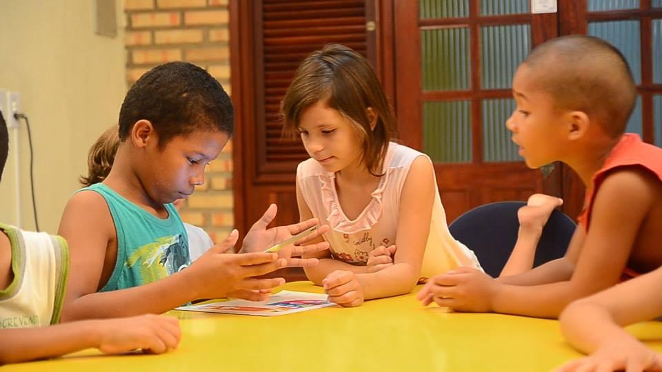 Apresentação do app para crianças
