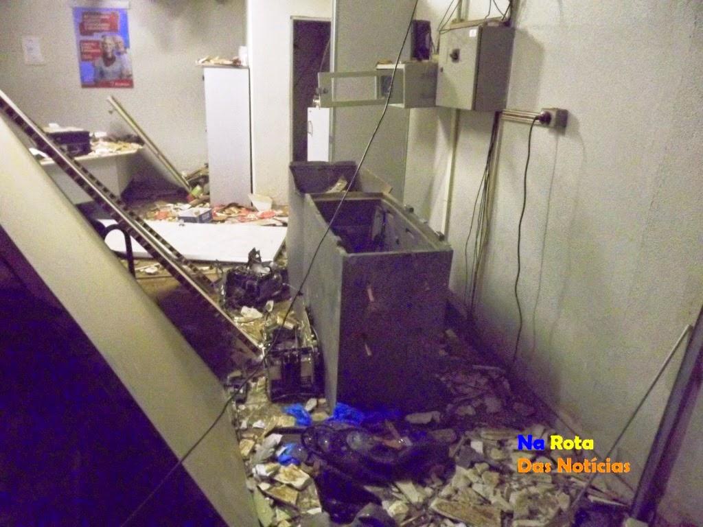 Assaltante explodem dois bancos em Penaforte (FOTO: Site Na Rota Das Notícias)