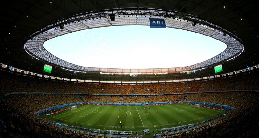 Arena Castelão sediou seis jogos da Copa do Mundo (Foto: Michael Steele/Getty Images/Fifa.com)