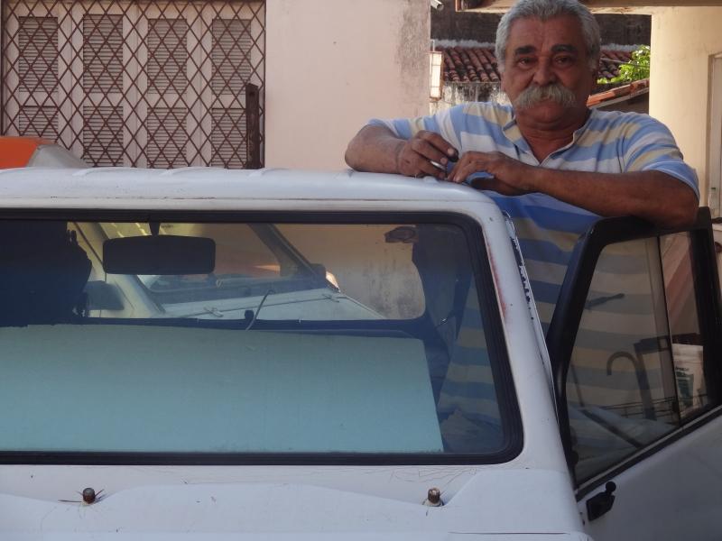Dé é referência para os donos do carro que moram em Fortaleza (FOTO: Hayanne Narlla/ Tribuna do Ceará)