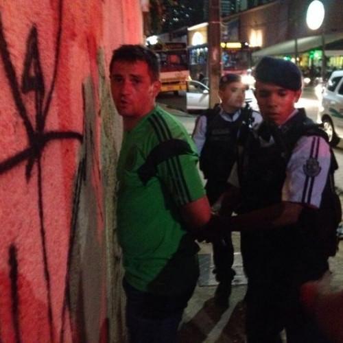 Prisão em flagrante foi realizada na Avenida Beira Mar (FOTO: Divulgação)