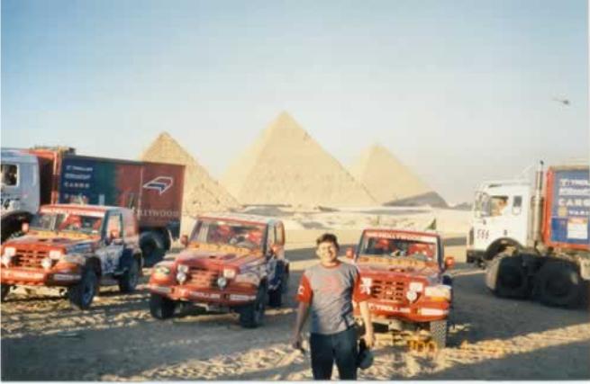 Troller no Paris Dakar
