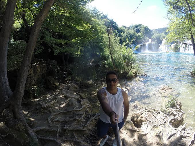 Park Krka, na Croácia. (FOTO: Arquivo Pessoal)