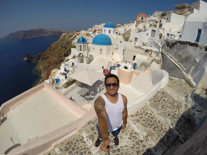 Registro de Santorini, na Grécia. (FOTO: Arquivo Pessoal)