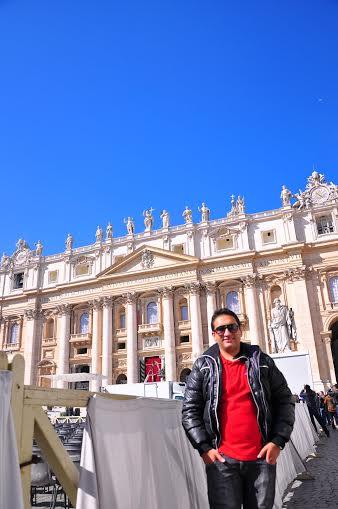 Registro no Vaticano. (FOTO: Arquivo Pessoal)