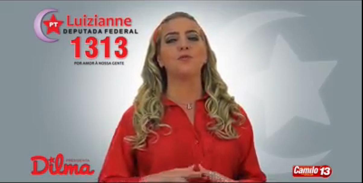Programa de Luizianne na TV - Foto: reprodução