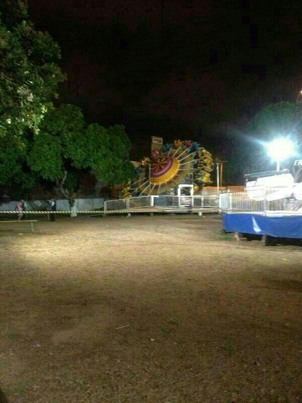 Acidente no Golden Park causou a morte de um jovem de 26 anos (FOTO: Whatsapp)