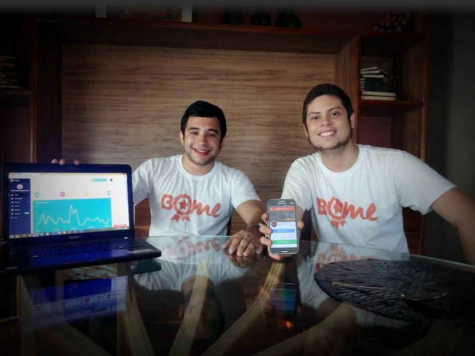 O Bome funciona como uma maneira dos consumidores ganharem bônus nos seus locais favoritos (Foto: Thamiris Treigher/Tribuna do Ceará)
