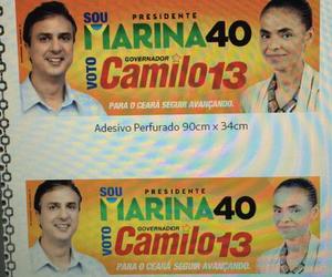 """Chapa """"Marica"""": Camilo Santana aparece ao lado de Marina Silva e revolta Eliane Novais"""