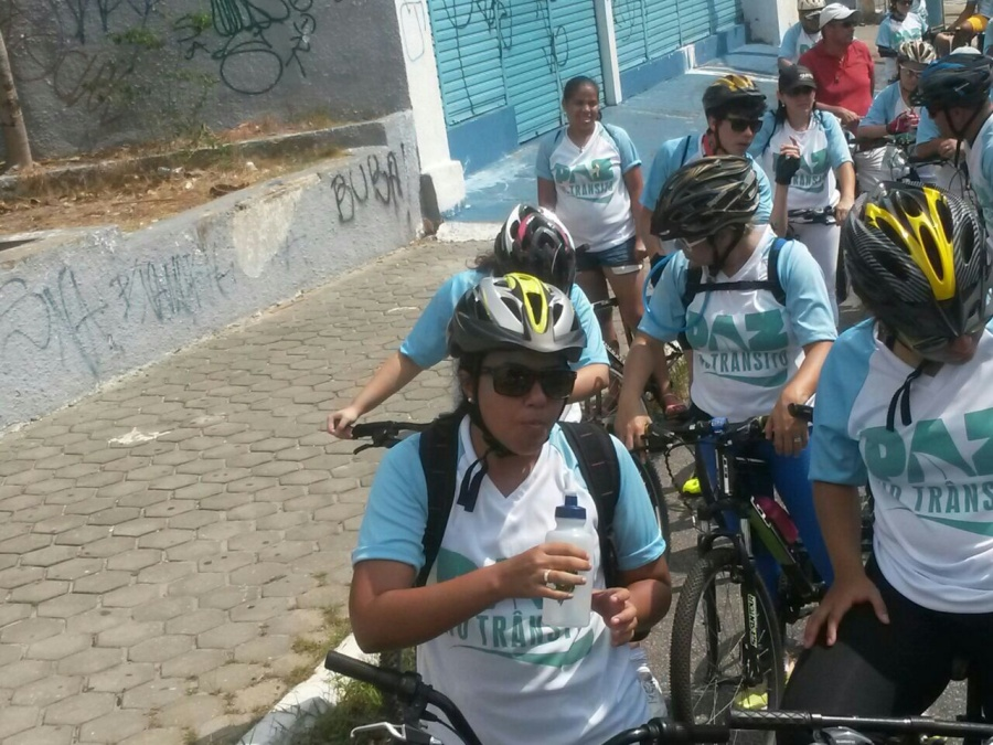 Ciclofaixas de lazer em Fortaleza