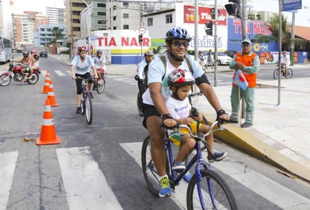 Trajeto vai da Avenida Engenheiro Santana Júnior até o Passeio Público. (FOTO: Prefeitura de Fortaleza)