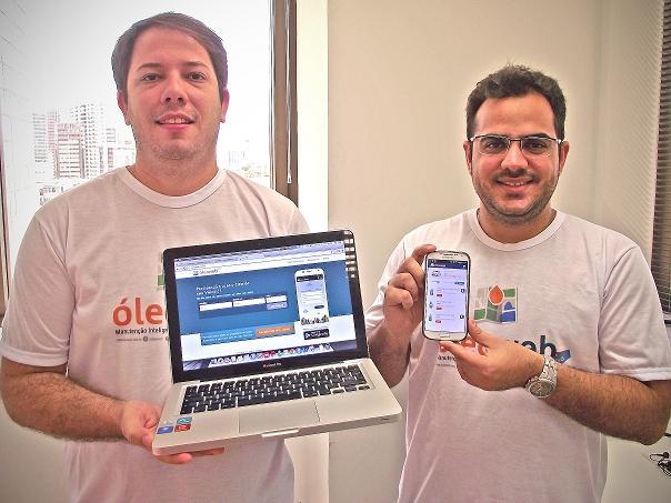 O app foi desenvolvido em 14 dias (FOTO: Divulgação/Óleo web)