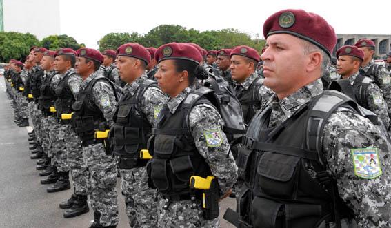 Segundo turno no Ceará pode contar com reforço da Força Nacional (FOTO: blog da Justiça/ Divulgação)