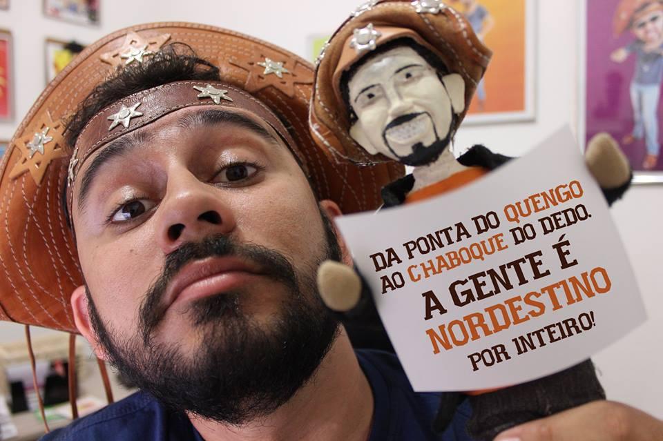 Braulio Bessa publicou vídeo em homenagem ao povo nordestino (FOTO: Reprodução Facebook)