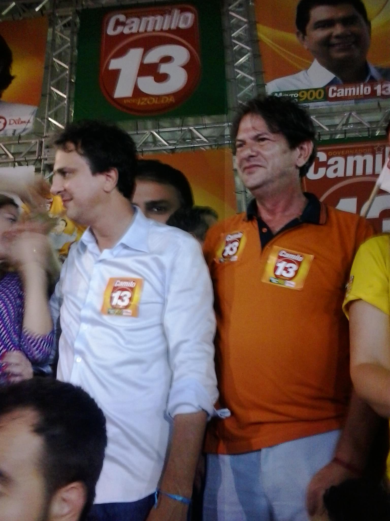 Camilo Santana vai ao 2º turno