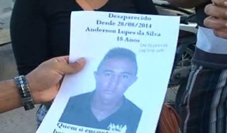 Jovem desaparece em supermercado; segundo a família, o caso foi presenciado por clientes do estabelecimento (FOTO: Reprodução/TV Jangadeiro)