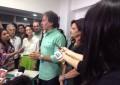 Após ser derrotado, Eunício Oliveira concedeu entrevista em seu escritório na Aldeota (FOTO: Tribuna do Ceará)
