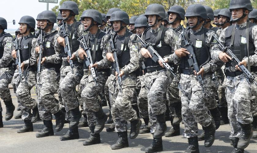 A Força Nacional foi acionada para garantir vigilância isenta a possíveis casos de corrupção eleitoral (FOTO: EBC/ Divulgação)