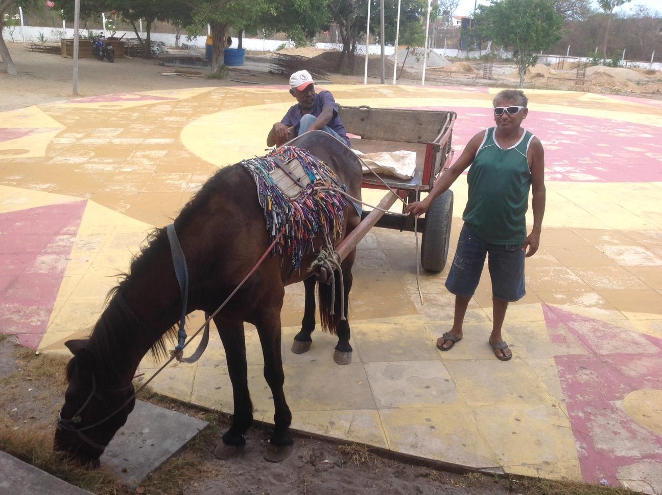 O agricultor Roberto Matos Gomes, de 52 anos, torce para a gestão seguinte se preocupar mais com as questões do campo (FOTO: Lucas Catrib)