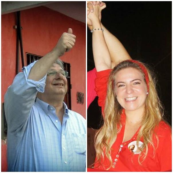 Enquanto Moroni foi o candidado mais bem votado, Luizianne ficou em 8º lugar (FOTO: REPRODUÇÃO/FACEBOOK)