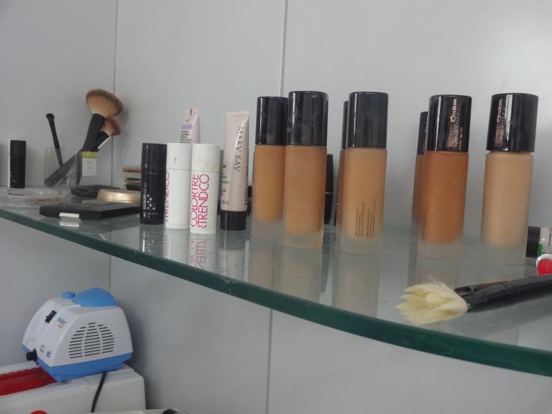 Maquiagem usada nos corpos