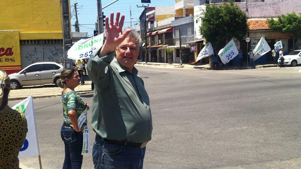 """Moroni é ex-policial federal e fez campanha """"pela vida"""" (FOTO: Reprodução Facebook)"""