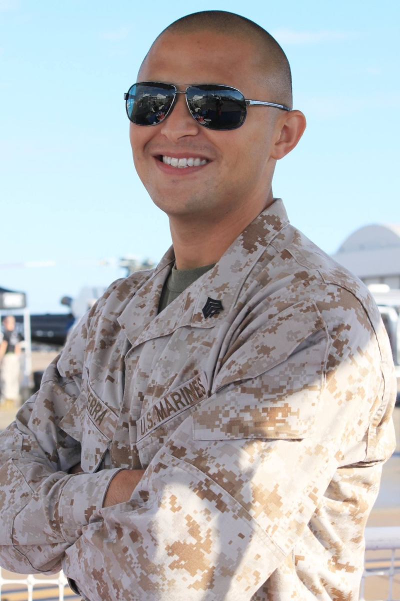 Aos 26 anos, cearense é fuzileiro naval americano